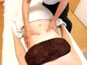 Menopause cellulite beauty slimming abdomen acupuncture lymph care
