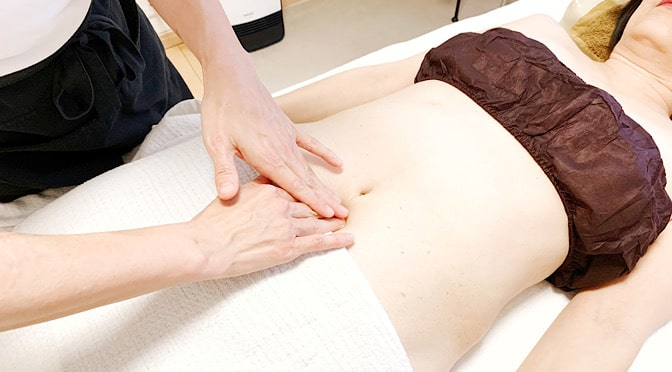 Menopausal cellulite beauty slimming and abdominal meridian lymph care